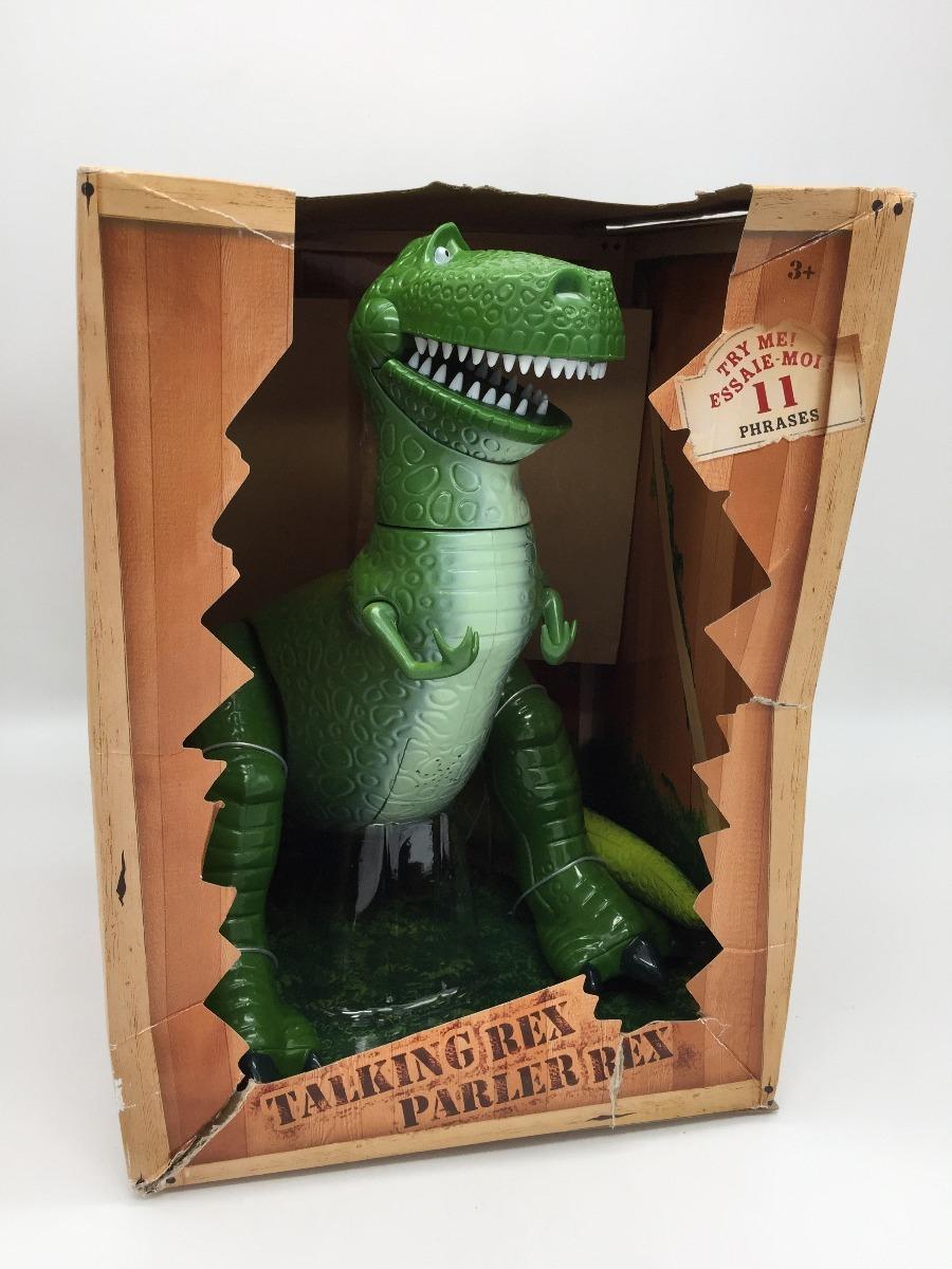 rex dinosaurio toy story habla disney store 30 cm. Cargando zoom. 35fc2757a2d