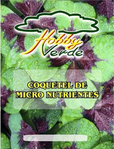rexolin bra coquetel de micronutrientes para hidroponia 30 g