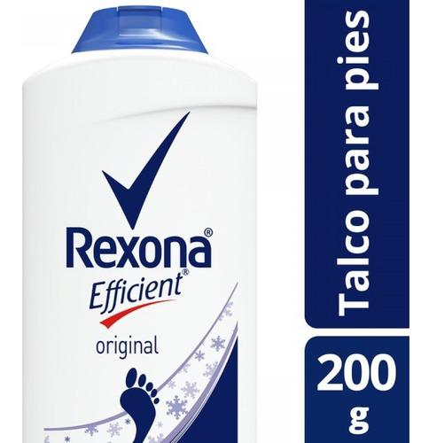 rexona efficient original talco 200g unilevercp