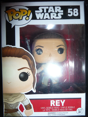 rey #59 star wars vii force awaken funko pop