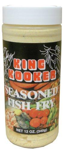 rey kooker  de 12 onzas sazonado fish fry