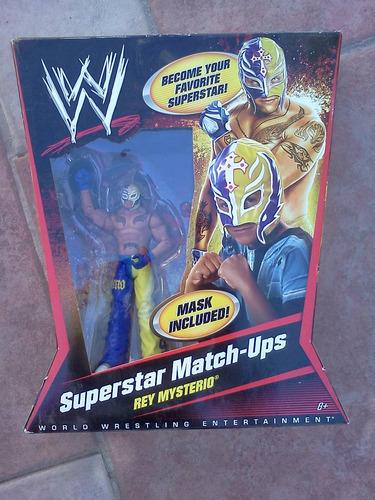 rey mysterio con mascara wwe exclusivo toysrus