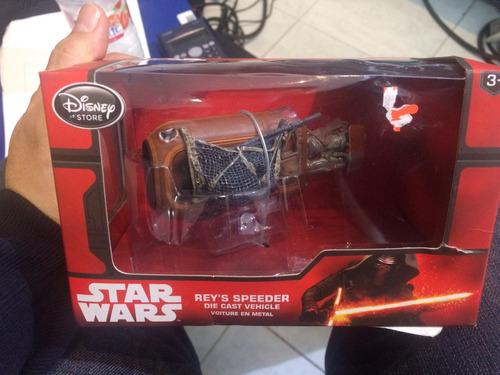 rey speeder star wars disney store die cast