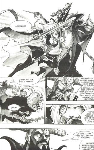 reyes elfos - warcraft dungeons & dragons - victor santos