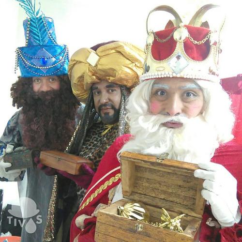reyes magos, santa claus, grinch, duendes