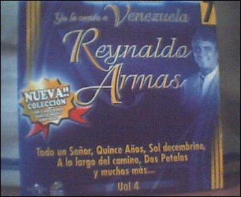 reynaldo armas  yo le canto a venezuela cd original