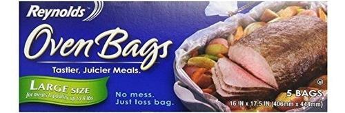 reynolds horno bolsas de cocina tamano grande para carnes y