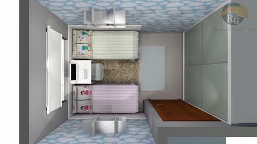 rg* casa condomínio fechado vila nova carolina *rg* 2 dormts - so1038