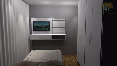 *rg* condomínio fechado casa verde *rg* 2 dormts | sem vaga - so1021