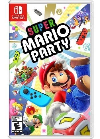 rg. super mario party juego nintendo switch