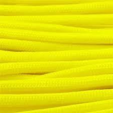 rg1012h rollo parachute cord paracord amarillo neon