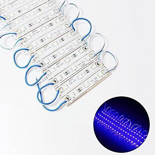 rgbzone 200pcs dc 12v 5050 smd 3 módulo led luces