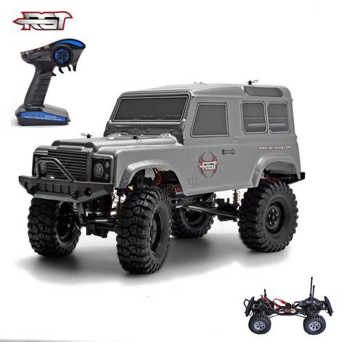 rgt 1/10 escala eléctrico rc modelo coche 4wd off road rock
