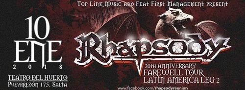 rhapsody en salta - argentina 2018 - platea vip