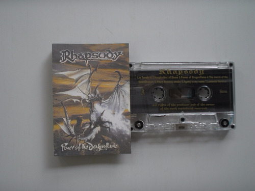 rhapsody power of gragonflame  cassette
