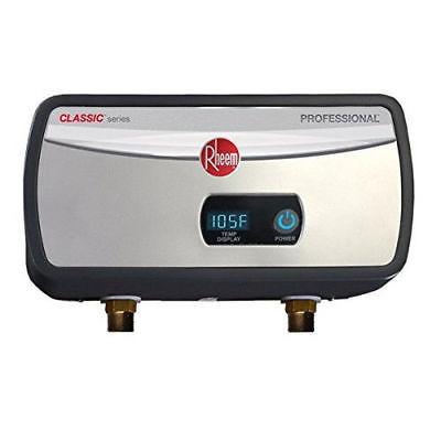 rheem 6kw calentador de agua sin tanque eléctrico 240v 1gpm