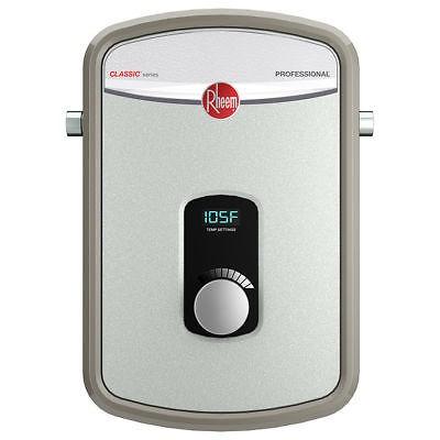 rheem rtex-08 calentador de agua eléctrico sin tanque, de 1