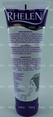 rhelen piernas cansadas 120ml gel-crema