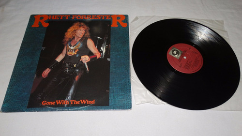 rhett forrester - gone with the wind '86 ( riot) (vinilo:ex