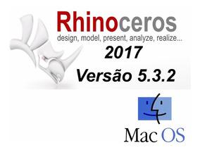 Rhinoceros 5 3 2 - P/ Mac Os + Modelos (160 Anéis)+ Variados