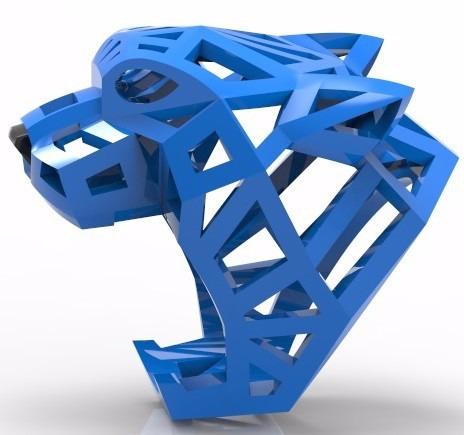 14b7cb44967 Rhinogold 6 - Modelo 3d Para Impressão - Anel Cartier Stl - R  250 ...