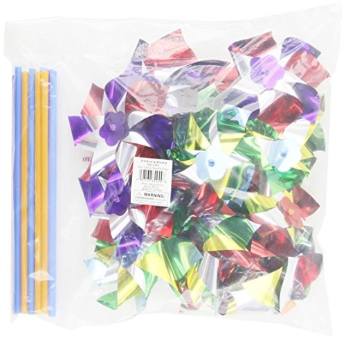 rhode island novedad de 6 pinwheels paquete de 12