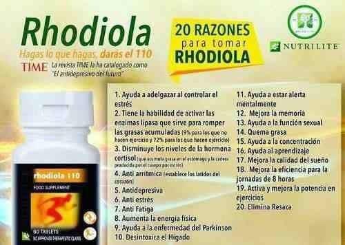 Rhodiola Nutrilite