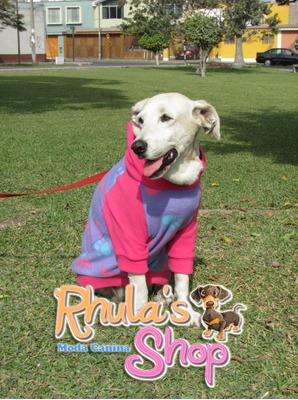rhula's shop - polera para perro ronnie talla s