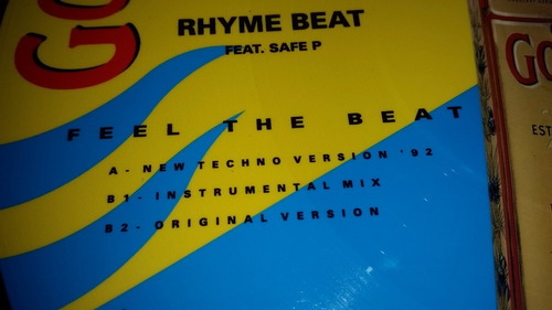 rhyme beat feat safe p feel the beat vinilo picture spain