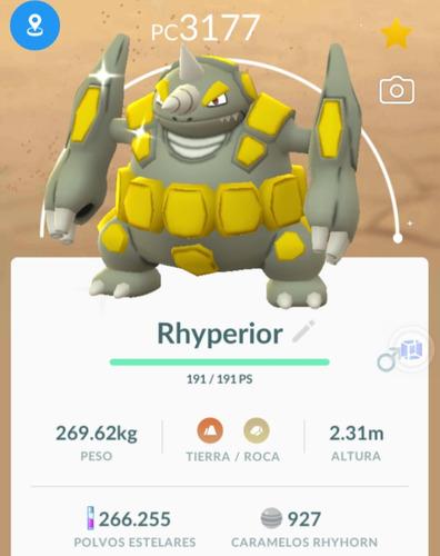rhyperior shiny +3000 pc