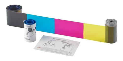 ribbon datacard cd165 color ymckt 250 impresiones