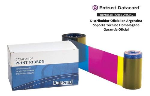 ribbon datacard color 500 imagenes sd260 sd360  ymckt