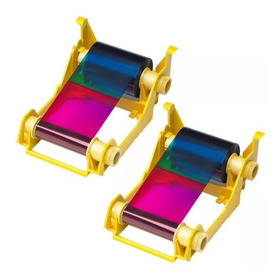 Ribbon Zebra Color Zxp3 Ymcko 200 Imagenes
