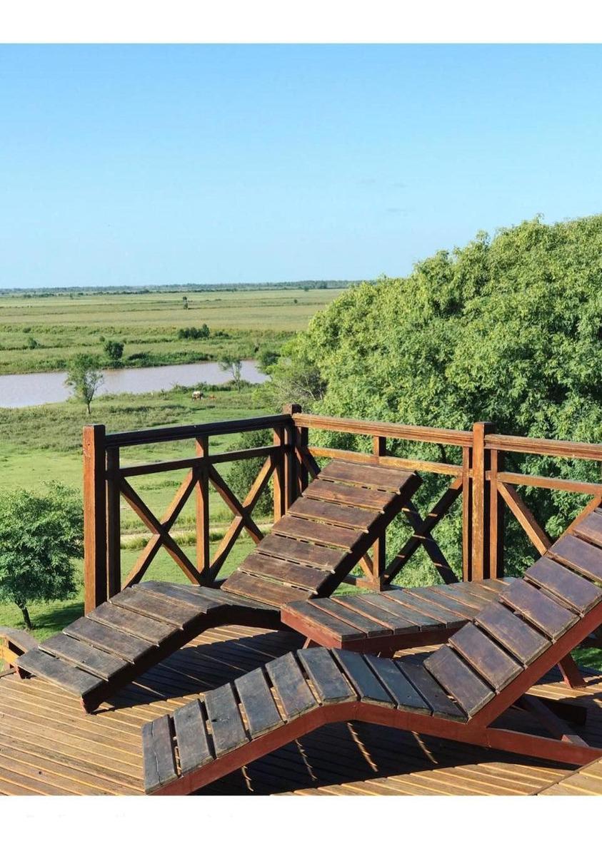 ribera eco house - cabaña sustentable con vista al río