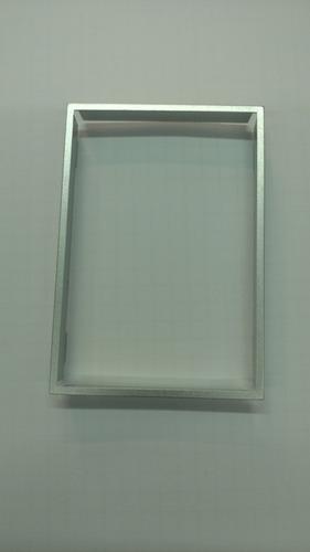 ribete de terminacion bauhaus aluminio cambre 4992