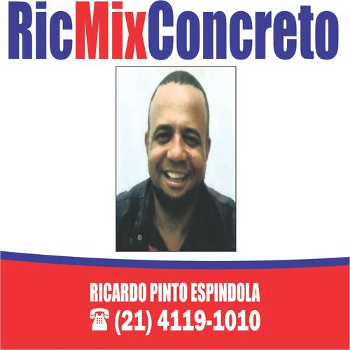 ric mix concreto bombeado na medida certa  para sua obra