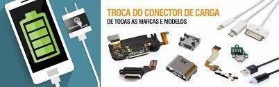 ric tec troca conector de carga celulares - todos os modelos