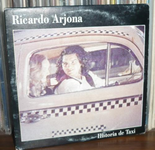 ricardo arjona cd single historia de taxi
