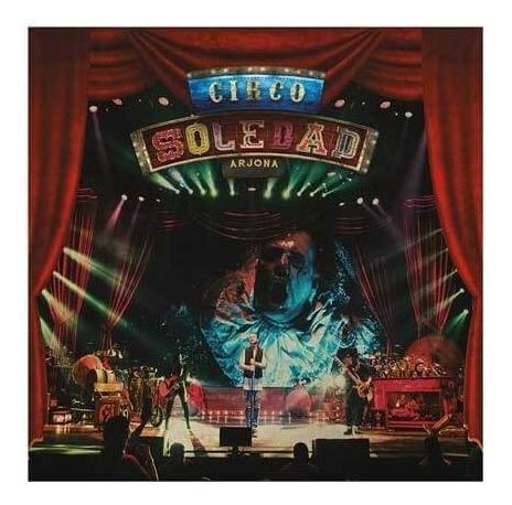 ricardo arjona circo soledad 2cd+dvd en vivo open music sy