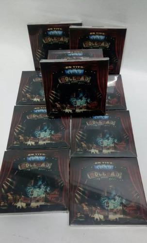 ricardo arjona circo soledad en vivo 2 cd + dvd disponible
