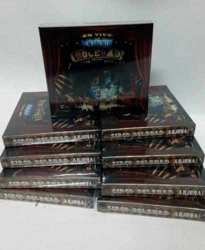 ricardo arjona circo soledad en vivo 2 cd + dvd nuevo 2019