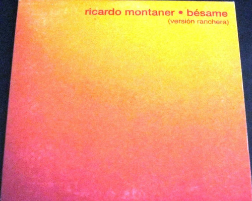ricardo montaner - besame single