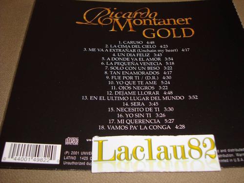 ricardo montaner gold 2002 universal cd