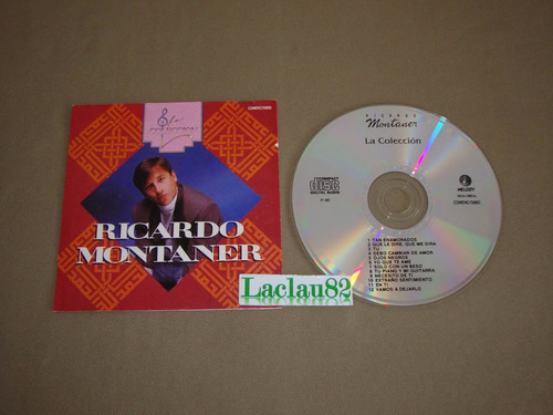 ricardo montaner la coleccion 1990 melody cd