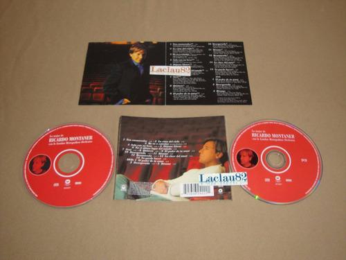 ricardo montaner lo mejor con la london 2005 warner cd + dvd