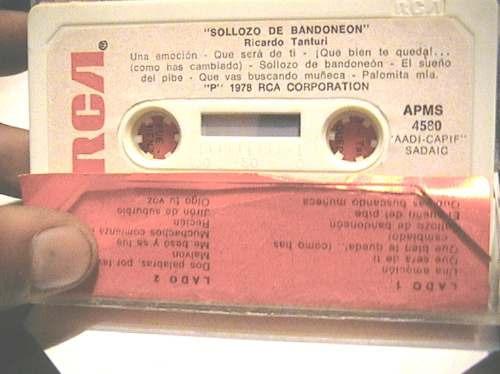 ricardo tanturi solloso de bandoneon cassette