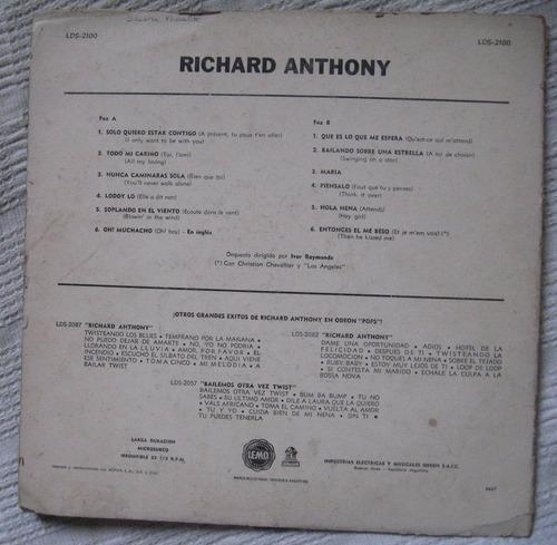 richard anthony (odeon pops lds-2100)