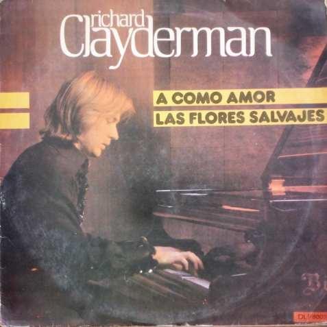 richard clayderman - a como amor - lp  año 1979!!