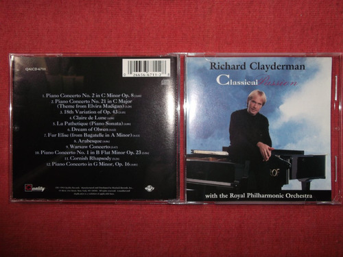 richard clayderman - classical passion cd usa ed 1994 mdisk