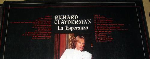 richard clayderman la esperanza lp argentino